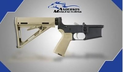 Anderson Complete Lower / W Magpull FDE