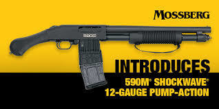 Mossberg 590M  With 10 Round Magazine