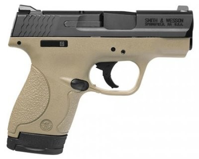 M&P®40 SHIELD™ FLAT DARK EARTH FINISH THUMB SAFETY