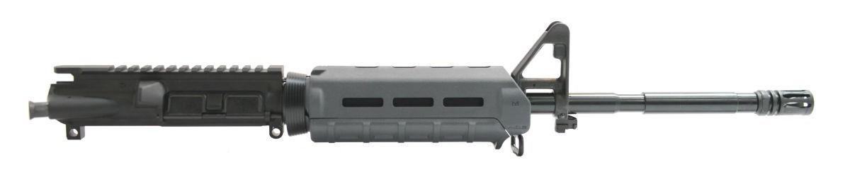 """PSA 16"""" M4 Carbine-Length 5.56 NATO Upper 1/7 Nitride MOE Upper, Gray - No BCG or CH"""