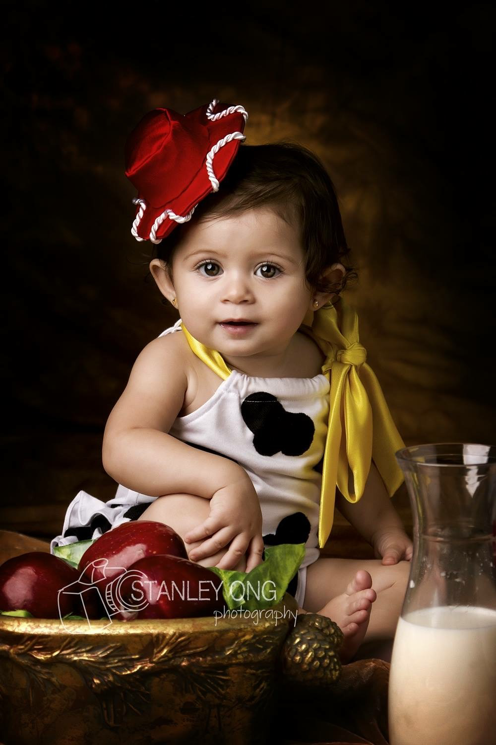 Holly Cow Baby Romper