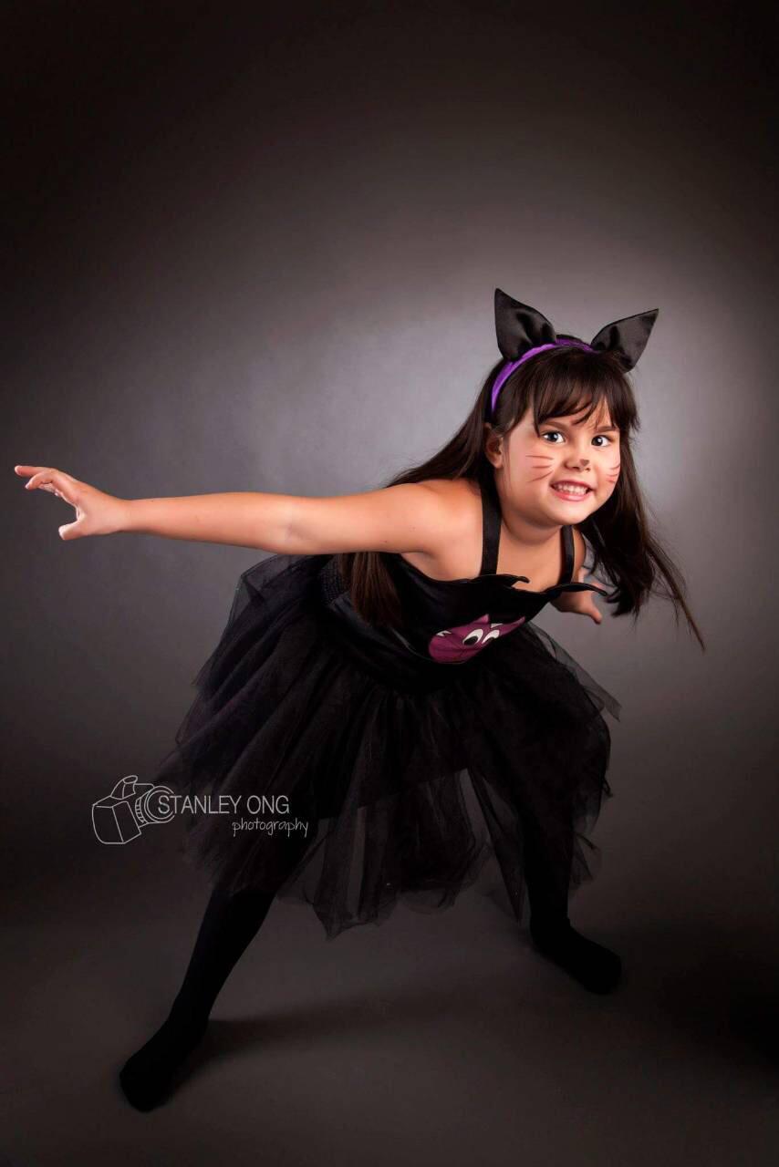 Black Cat Tutu Dress