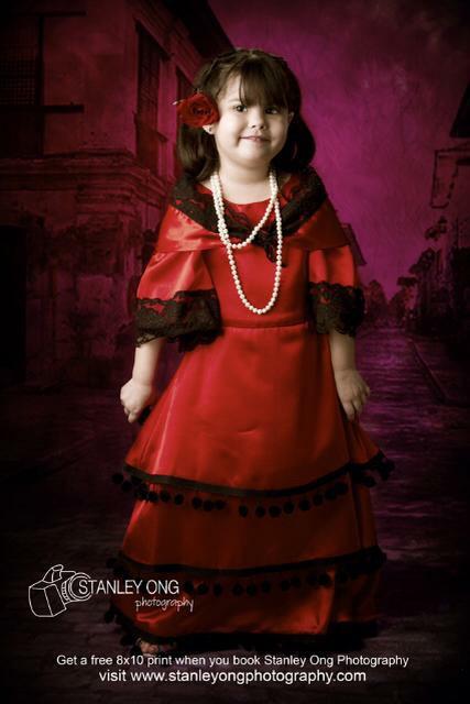 Spanish / Filipiniana Dress