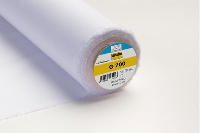 G700 - Iron-on/fusible WOVEN Interlining