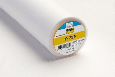 G 785 - Ironon/fusible WOVEN Interlinings