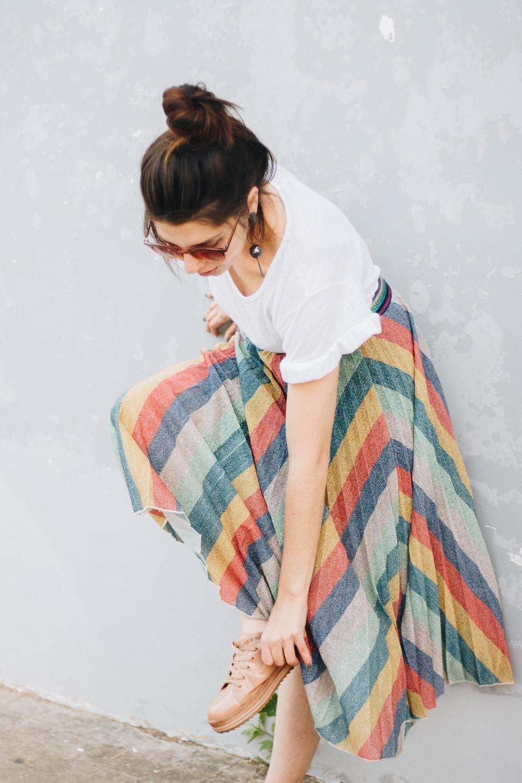 Wraparound/ A line skirt course
