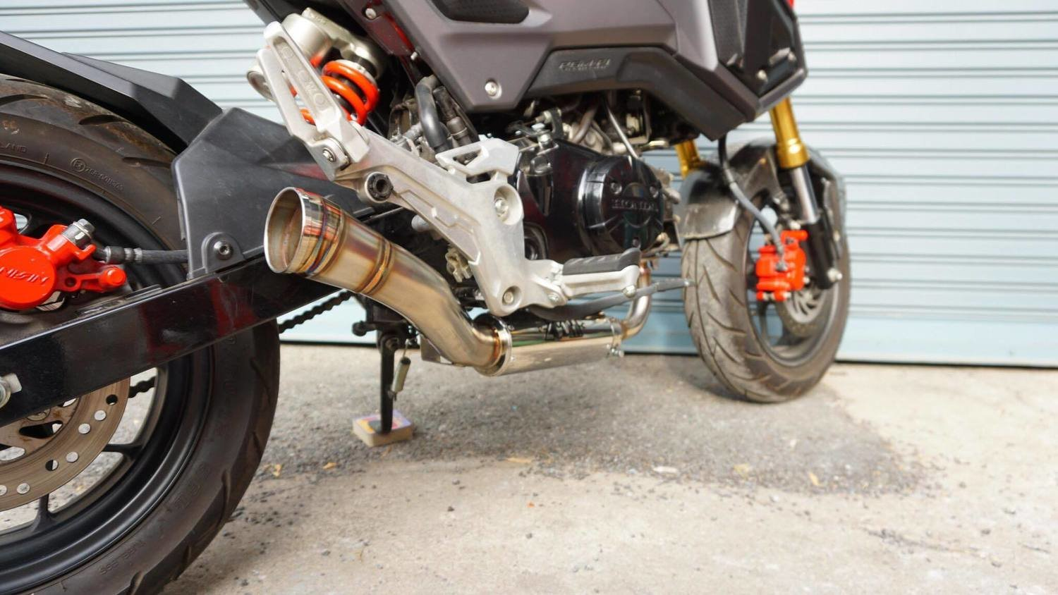 ZoOM Exhaust Honda GROM 125 MSX SF 2013-2019 Full System The