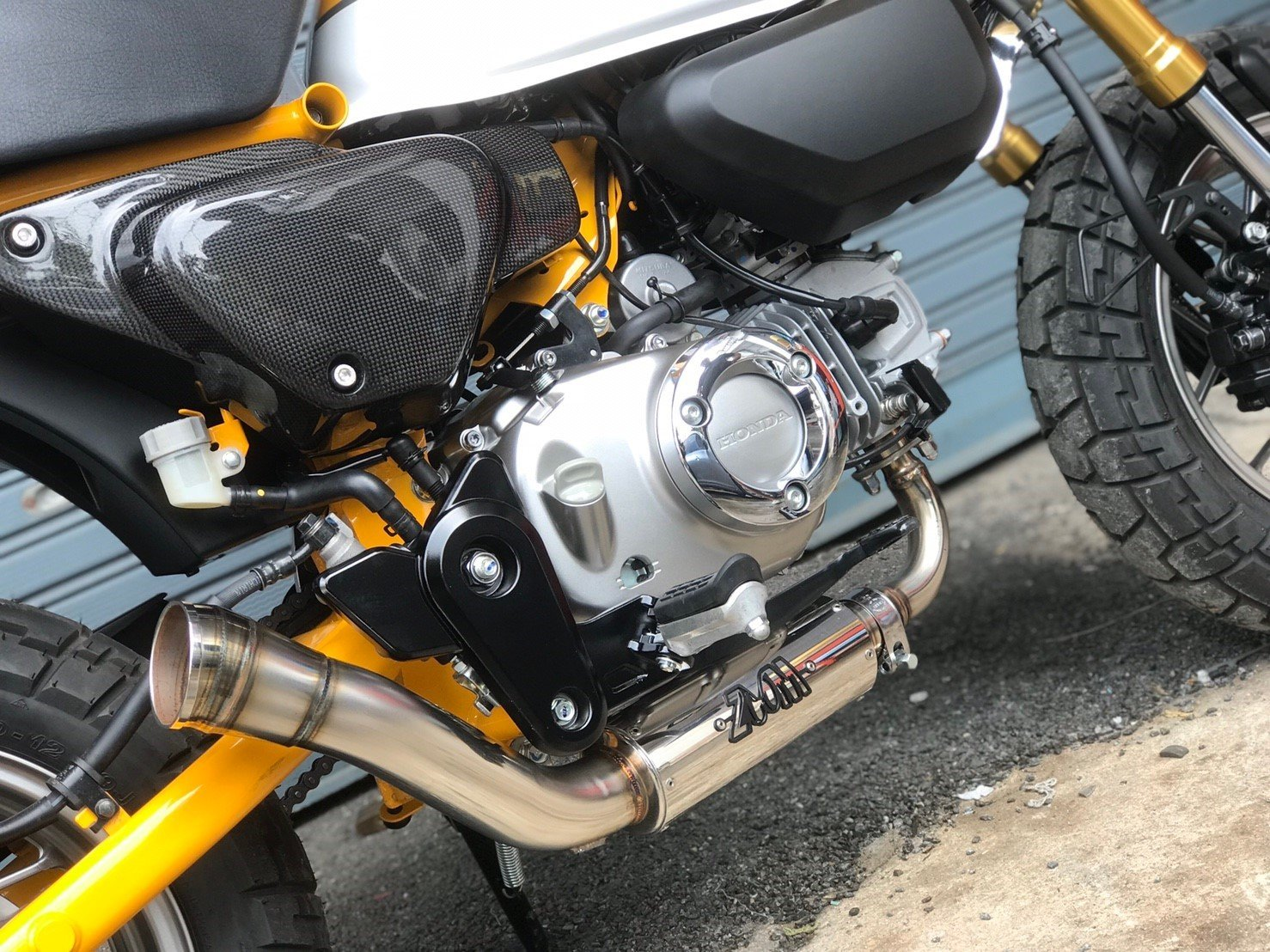 Zoom Brute Exhaust Honda Monkey 125 Full System 2018 2019 Low Mount