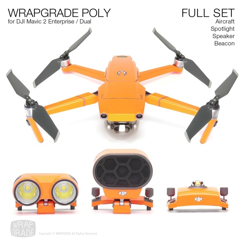 WRAPGRADE for DJI Mavic 2 Enterprise / Dual [17colors]