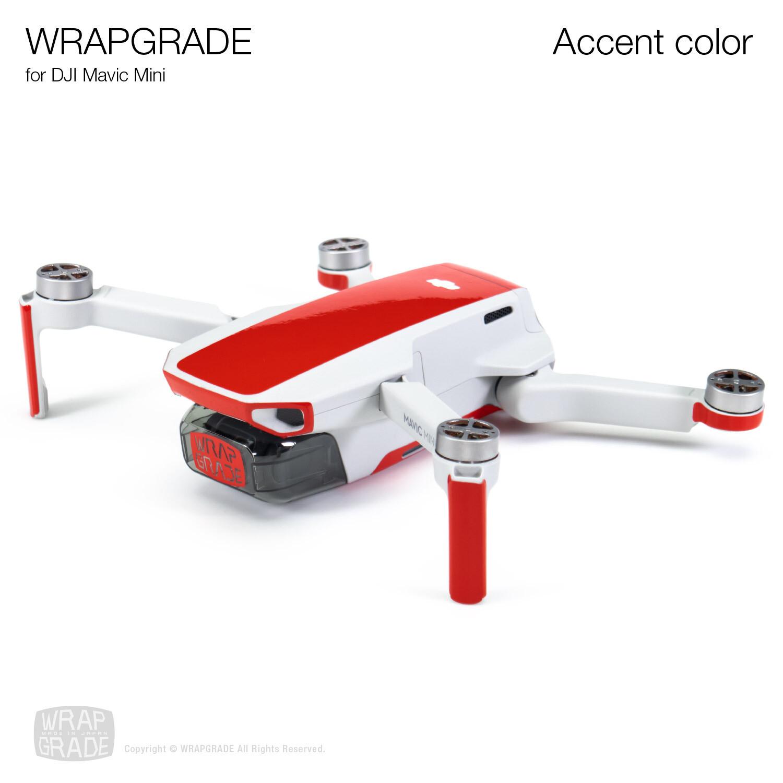 Wrapgrade Poly Skin for DJI Mavic Mini   Accent color [20 colors]