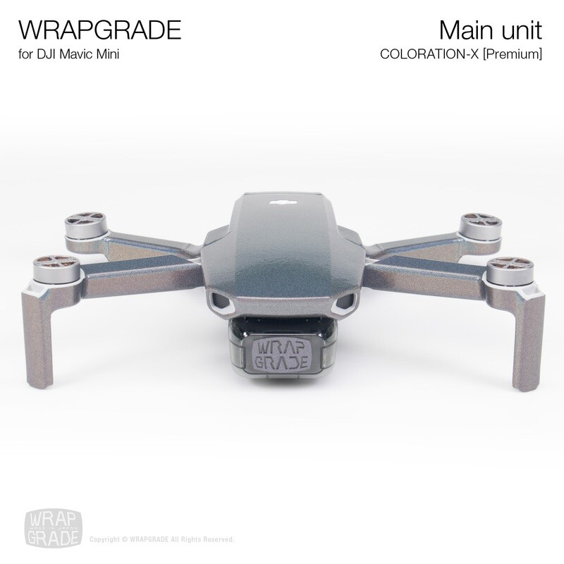 Wrapgrade Poly Skin for Mavic Mini | Main Unit (COLORATION-X)