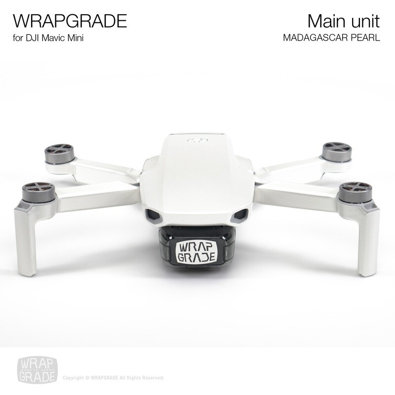 Wrapgrade Poly Skin for Mavic Mini | Main Unit (MADAGASCAR PEARL)