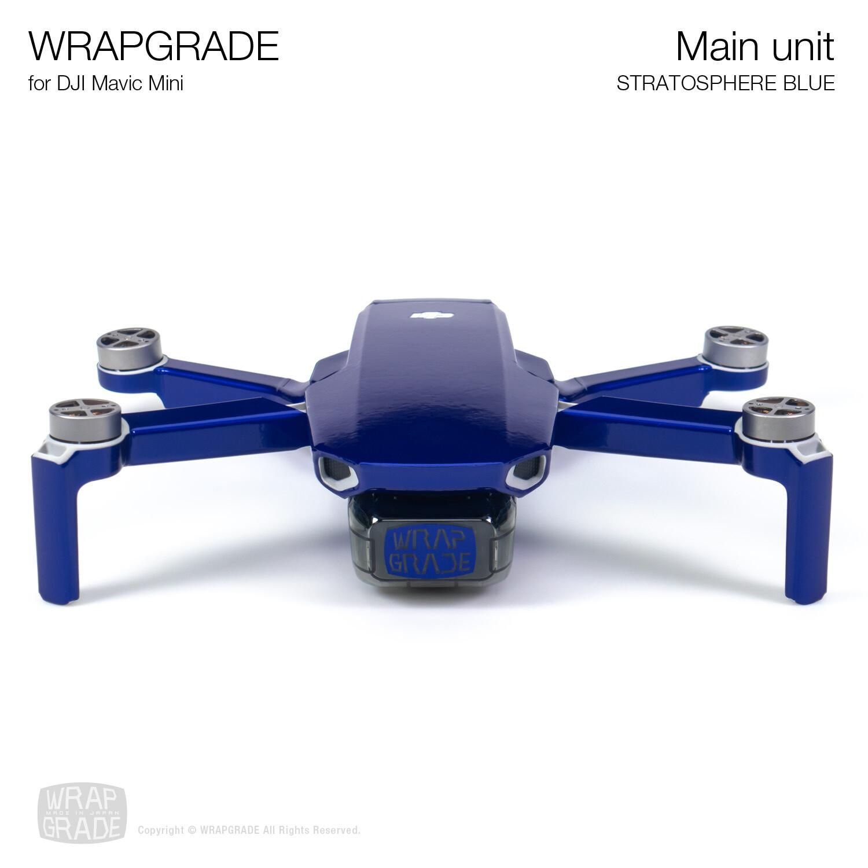 Wrapgrade Poly Skin for Mavic Mini | Main Unit (STRATOSPHERE BLUE)