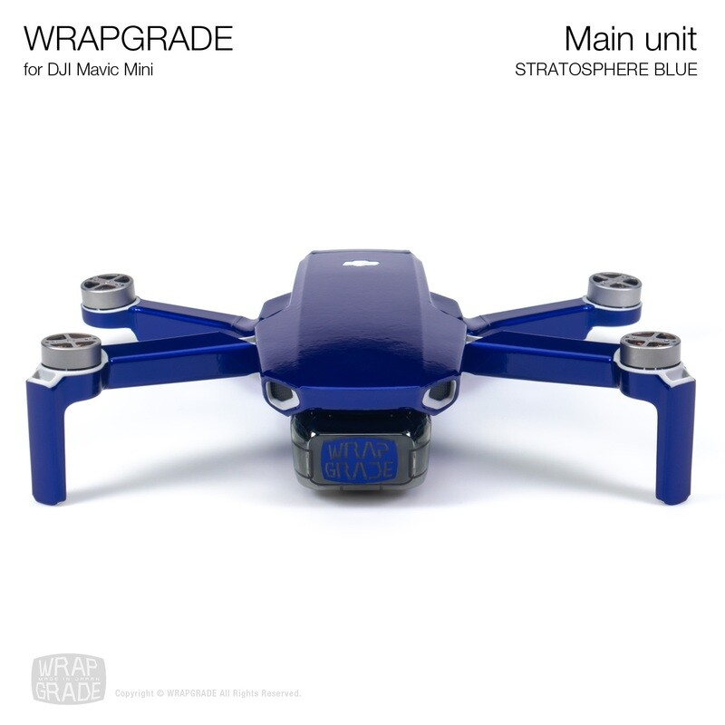 Wrapgrade Poly Skin for Mavic Mini | Main Unit (STRATOSPHERE BLUE)