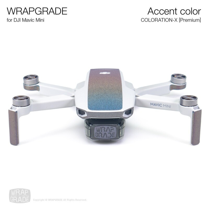 Wrapgrade Poly Skin for Mavic Mini | Accent color (COLORATION-X)