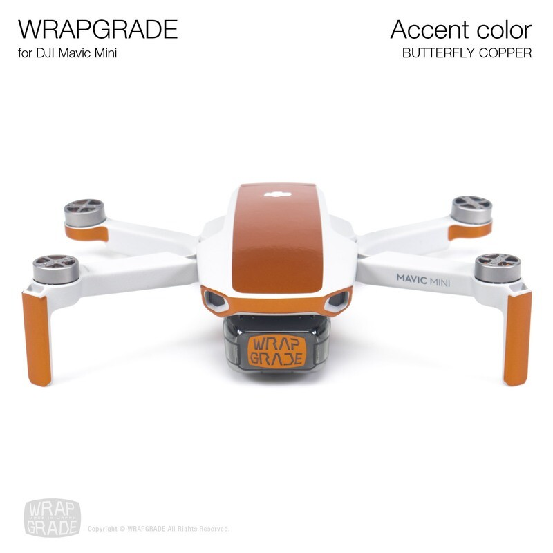 Wrapgrade Poly Skin for Mavic Mini | Accent color (BUTTERFLY COPPER)