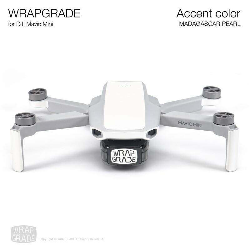 Wrapgrade Poly Skin for Mavic Mini   Accent color (MADAGASCAR PEARL)