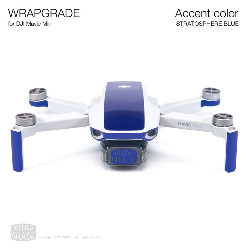 Wrapgrade Poly Skin for Mavic Mini | Accent color (STRATOSPHERE BLUE)