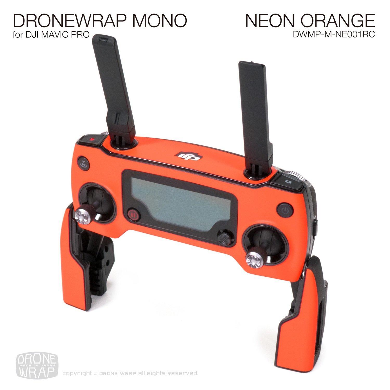NEON ORANGE for DJI Mavic Pro Remote Controller Skin | Half Gloss