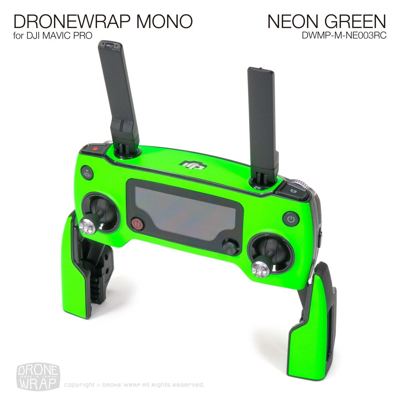 NEON GREEN for DJI Mavic Pro Remote Controller Skin | Half Gloss
