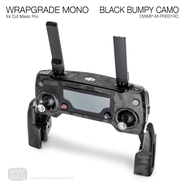 BLACK BUMPY CAMO for DJI Mavic Pro Remote Controller Skin | Embossed