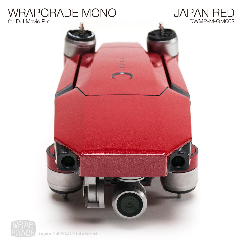 JAPAN RED for DJI Mavic Pro Skin | Gloss Metallic