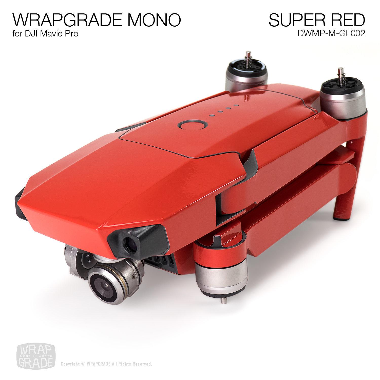 SUPER RED for DJI Mavic Pro Skin | Gloss