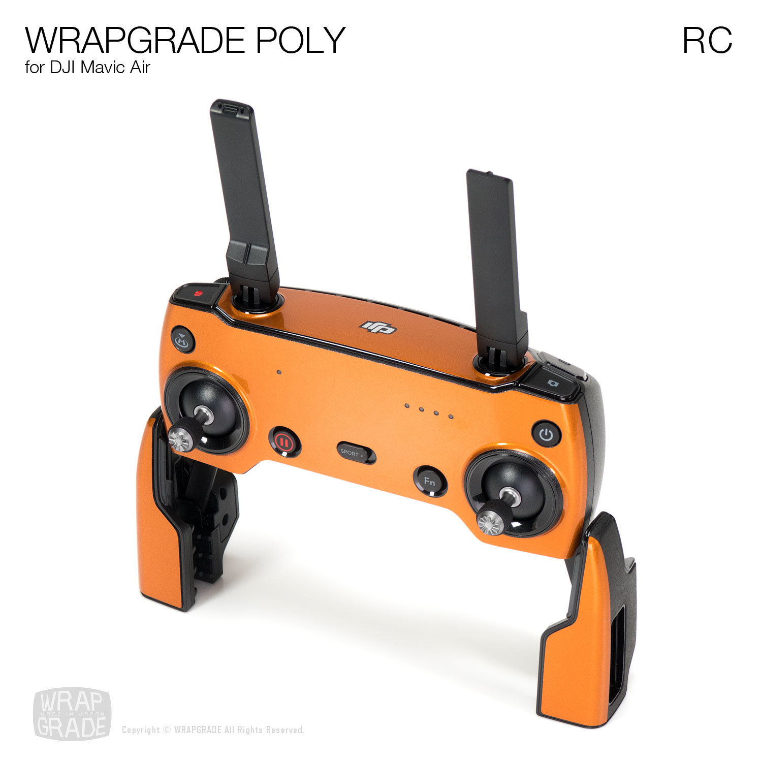 Wrapgrade Poly Skin for DJI Mavic Air | RC (20 colors)