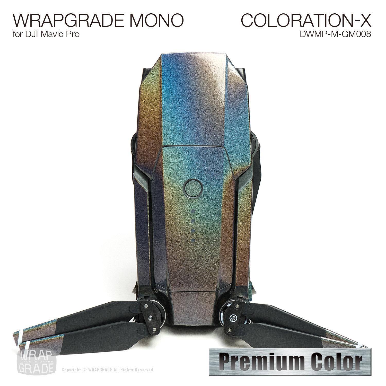 COLORATION-X for DJI Mavic Pro Skin | Gloss Metallic
