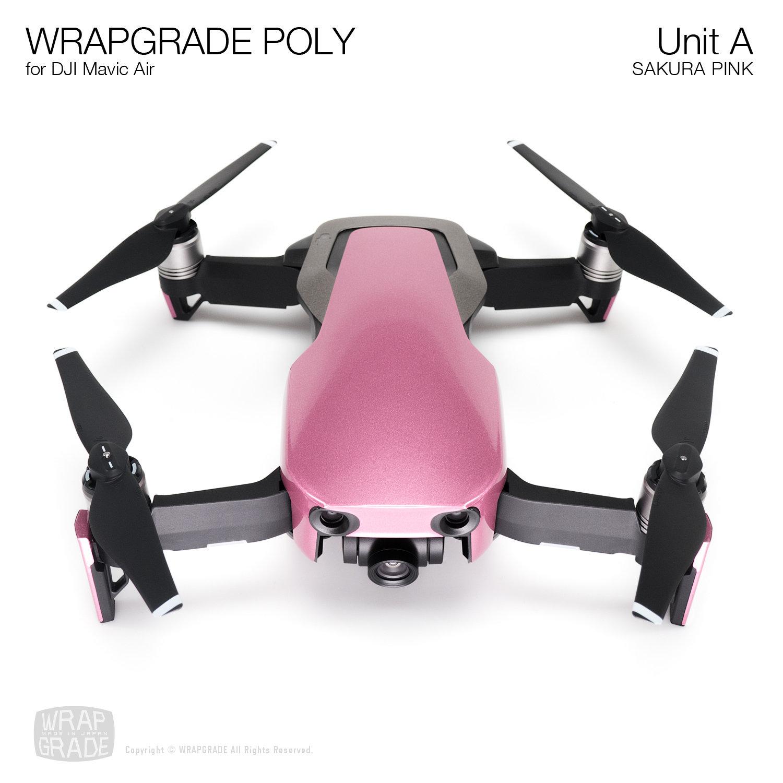 Wrapgrade Poly Skin for DJI Mavic Air | Unit A (SAKURA PINK)