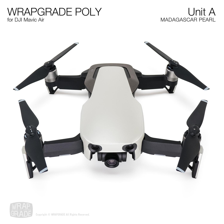 Wrapgrade Poly Skin for DJI Mavic Air   Unit A (MADAGASCAR PEARL)