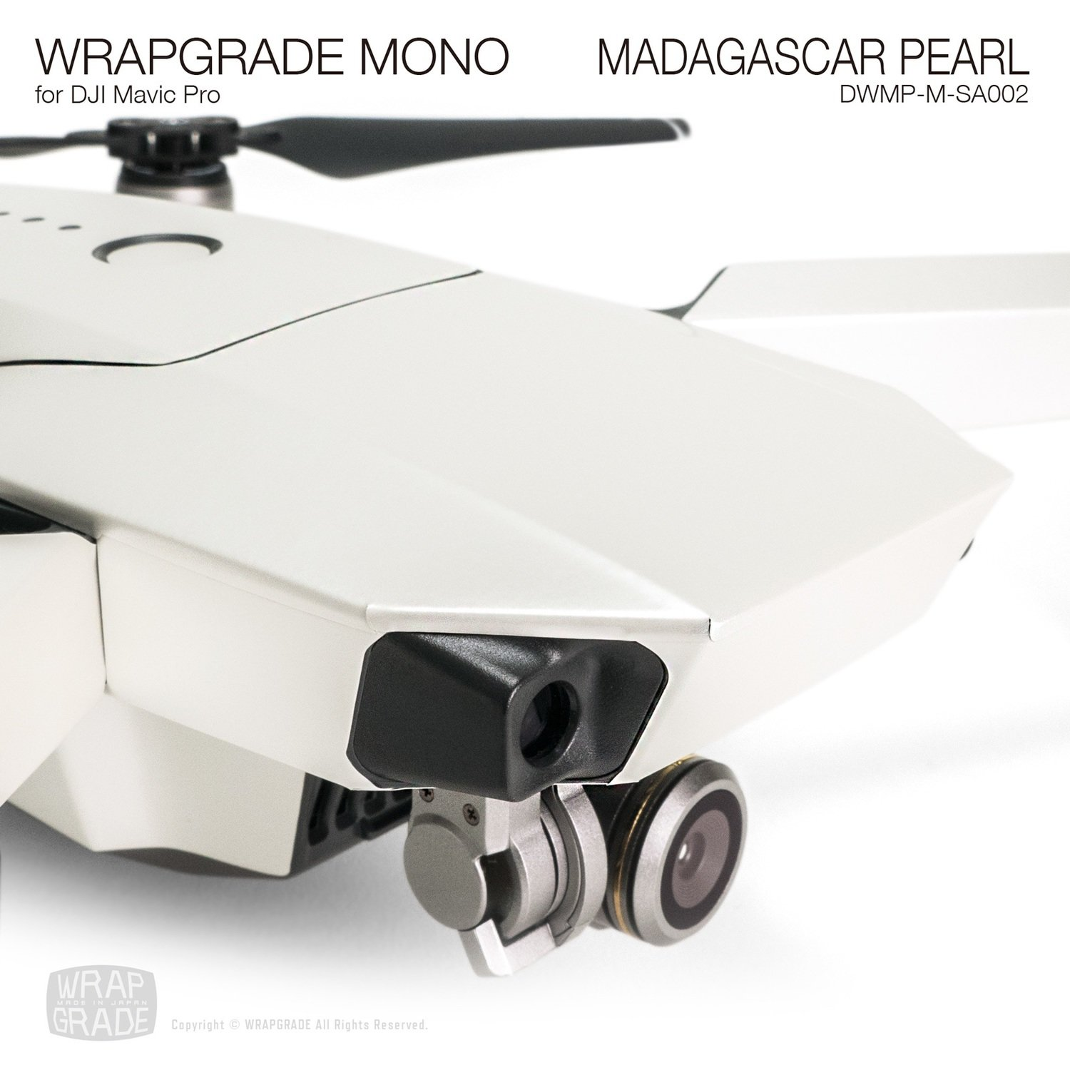 MADAGASCAR PEARL for DJI Mavic Pro Skin | Half Gloss