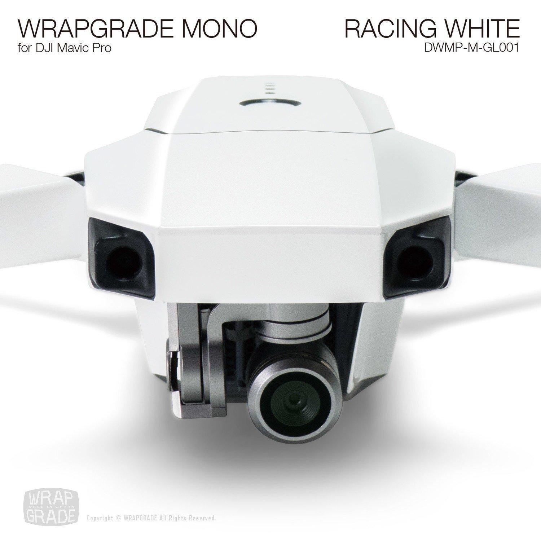 RACING WHITE for DJI Mavic Pro Skin   Gloss