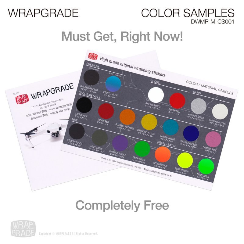 MATERIAL COLOR SAMPLES for FREE