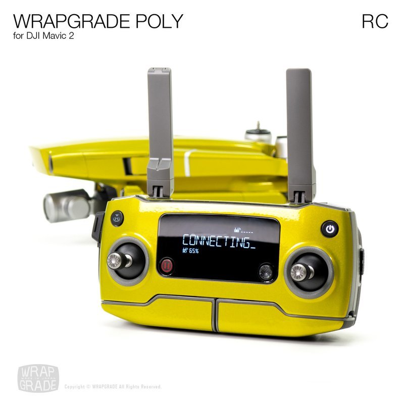 Wrapgrade Poly Skin for DJI Mavic 2 | RC [18 colors]