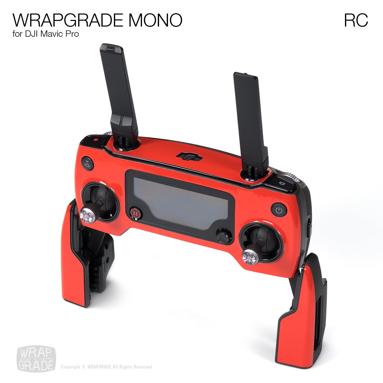 Wrapgrade Mono Skin for DJI Mavic Pro | RC [18 colors]