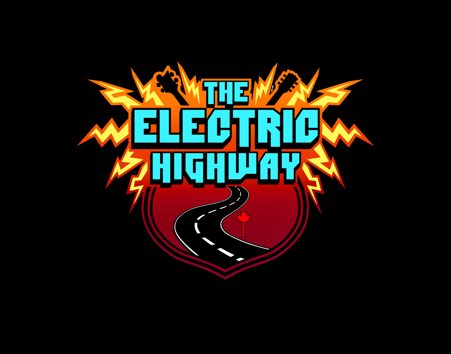 The Electric Highway Sticker with Pass or Ticket Purchase