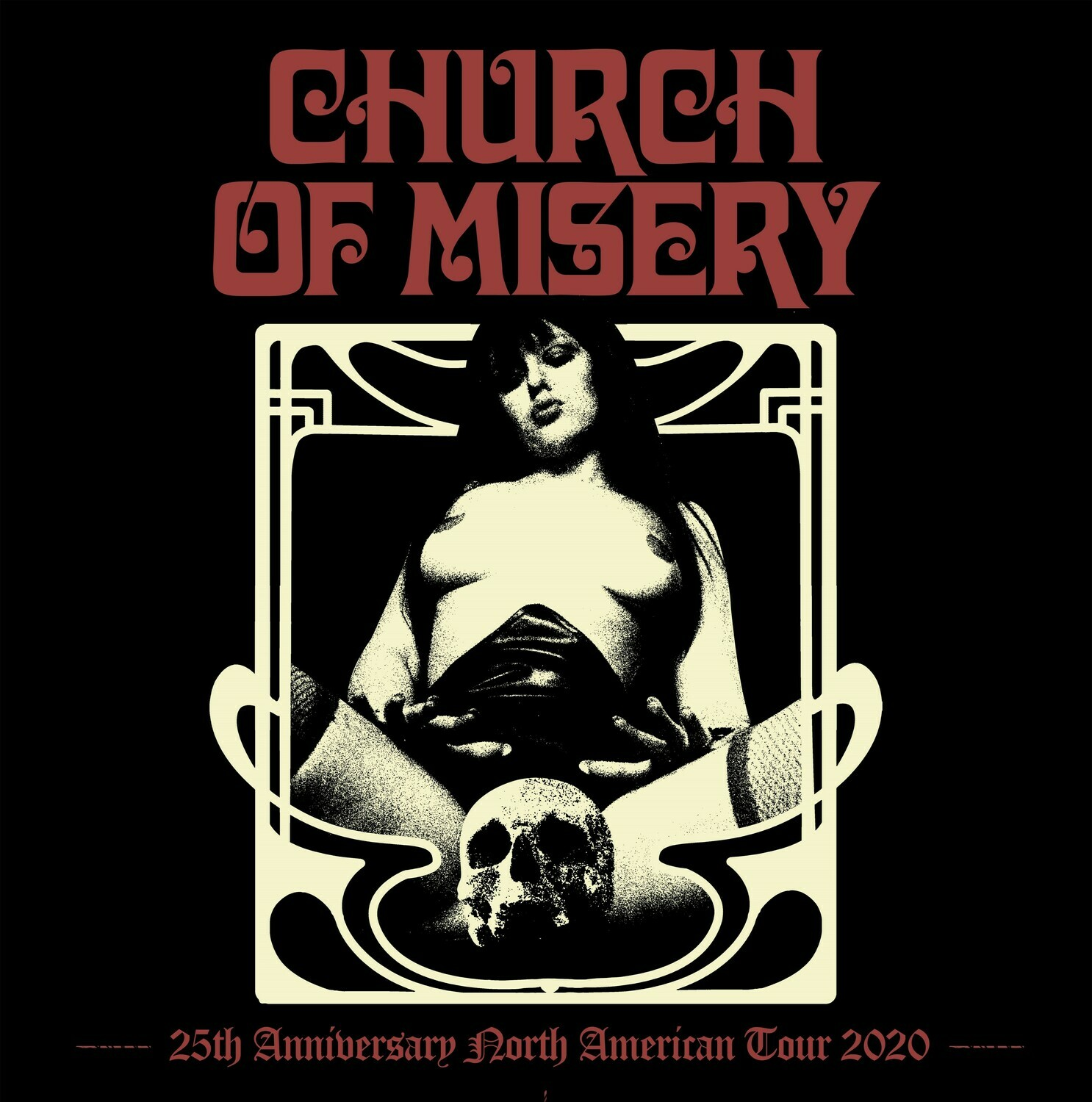 Church of Misery Ticket