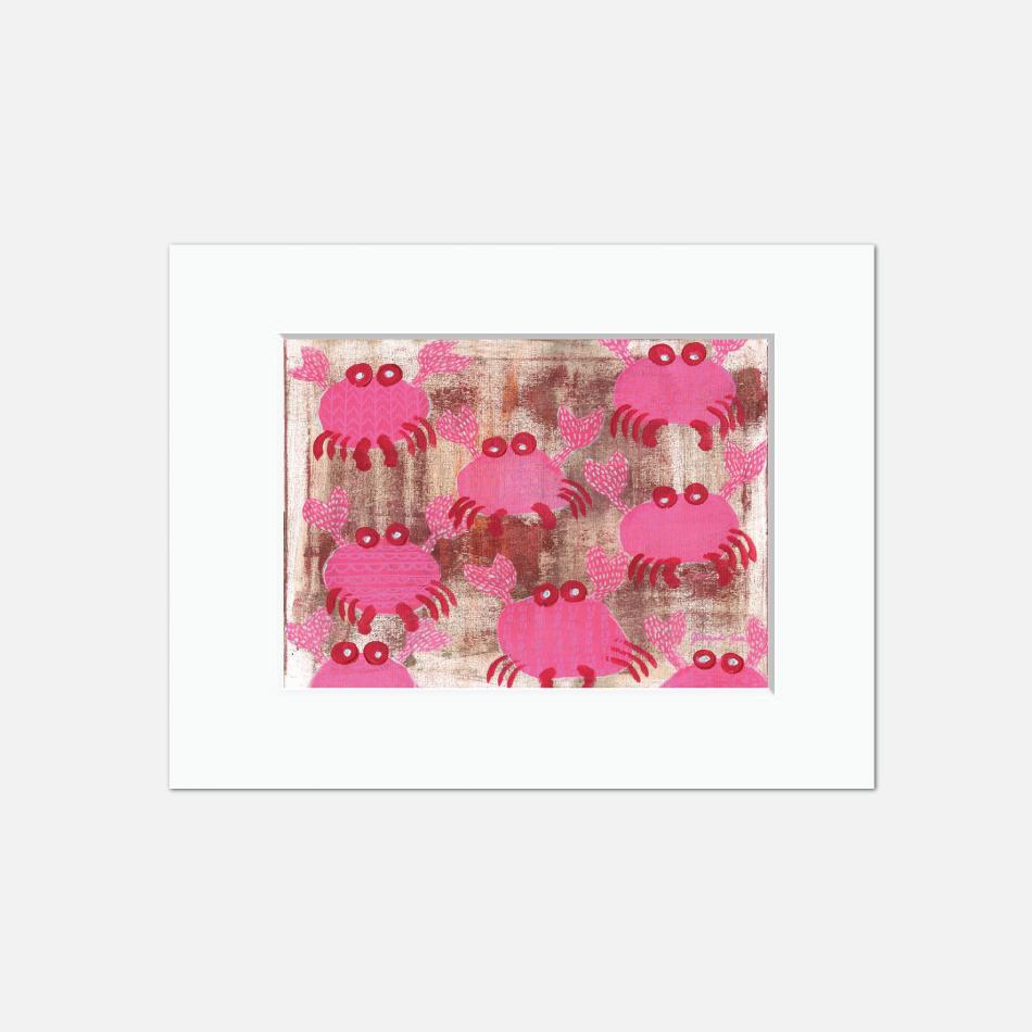Pink Crabs