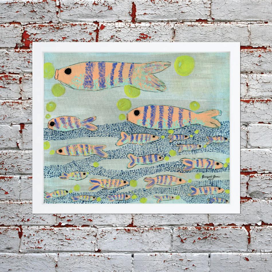 Fishy Fishy Cross My Ocean