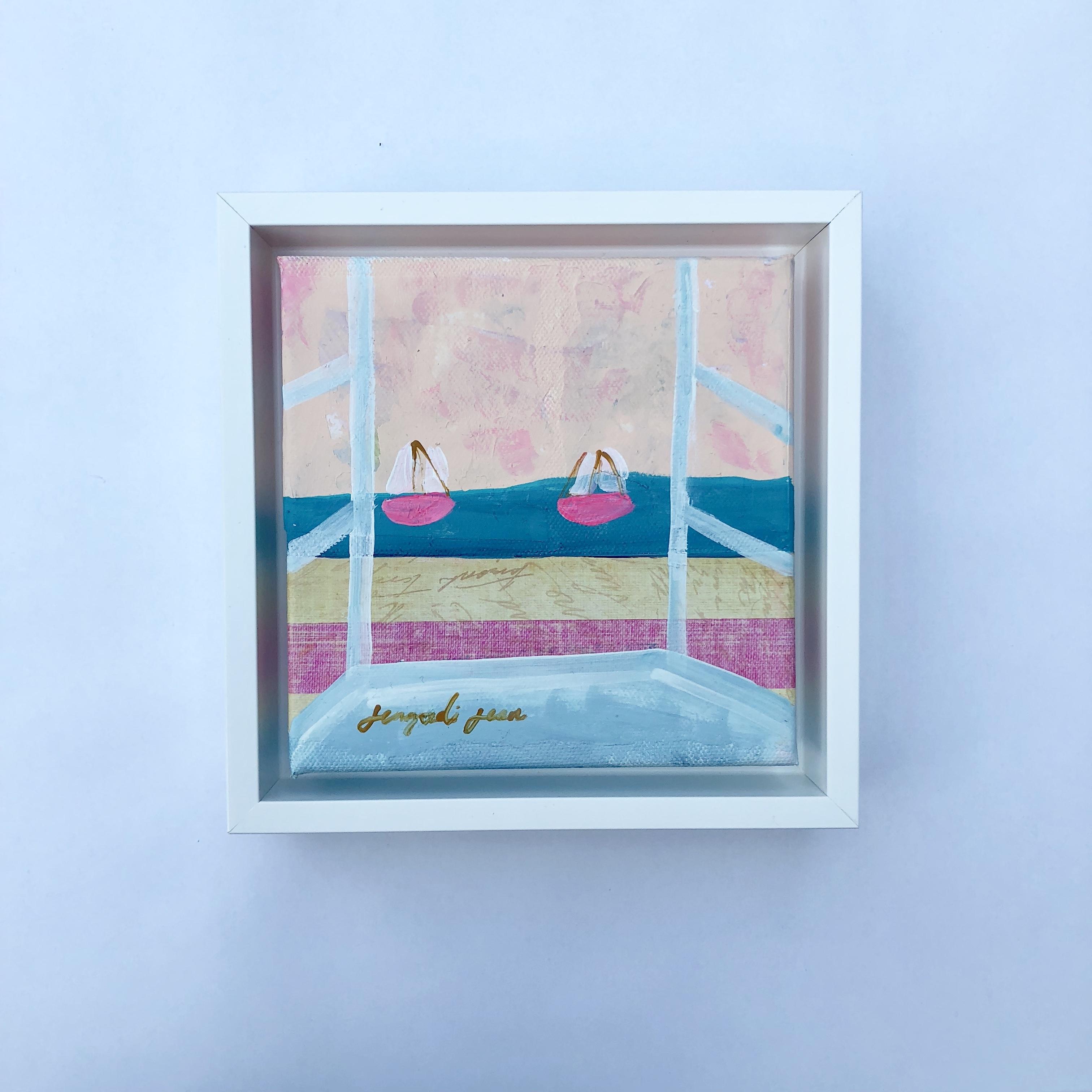 Beach Roses (6x6) 00102