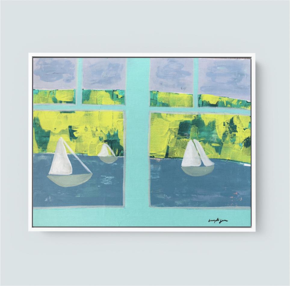 I'll Sail Away (20x24) 00112