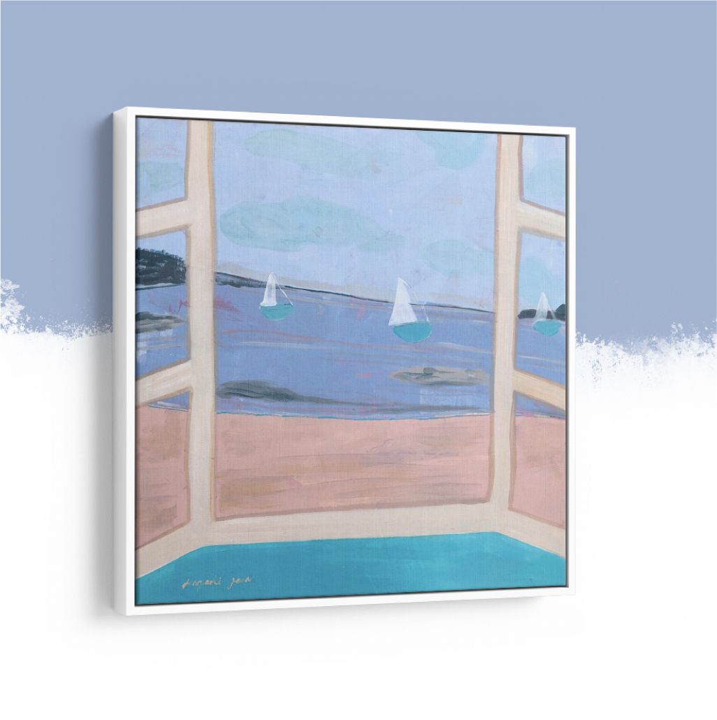 The Oster Ocean Front  (24 x 24)