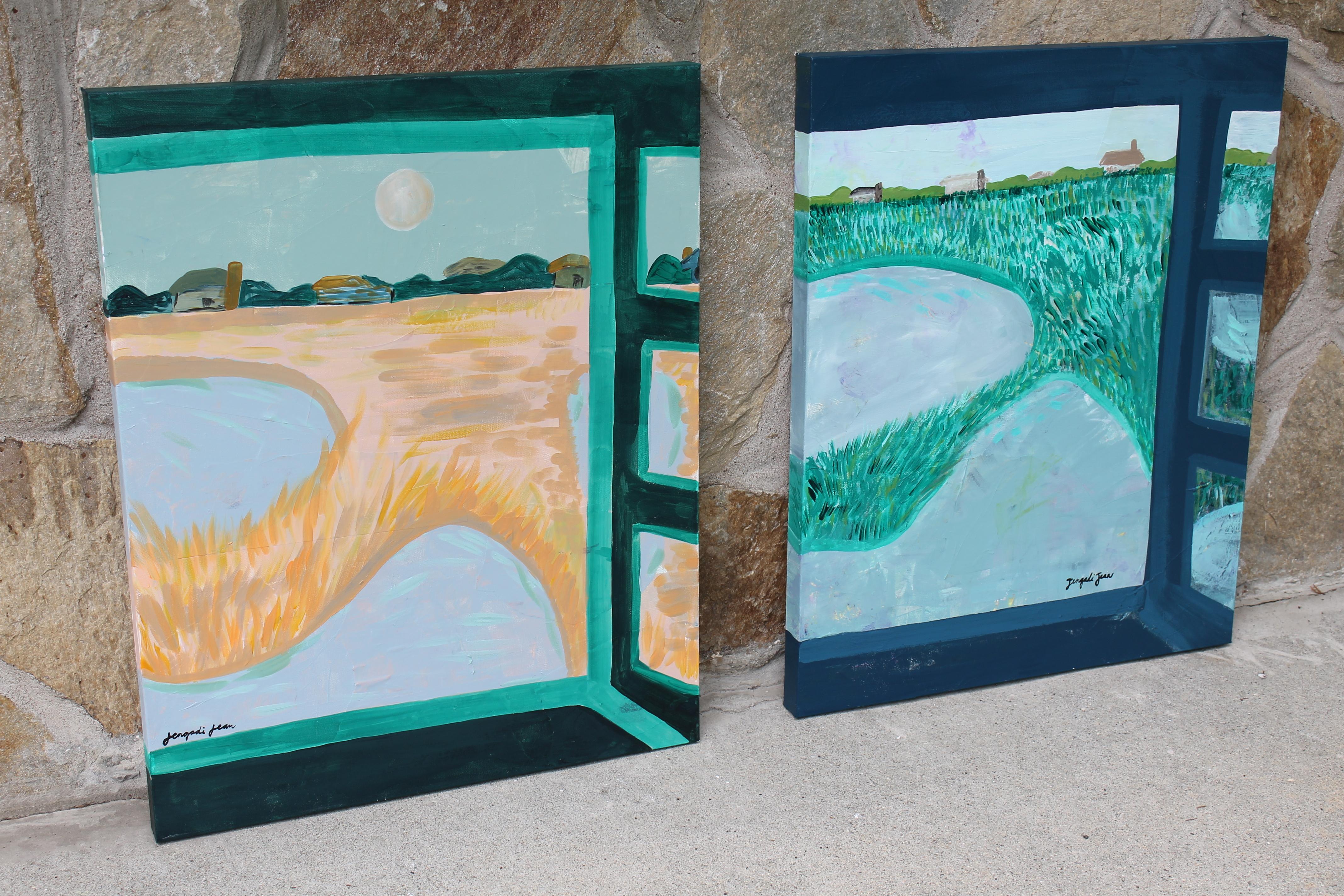 Lucinda Gray's Beach (24 x 30)