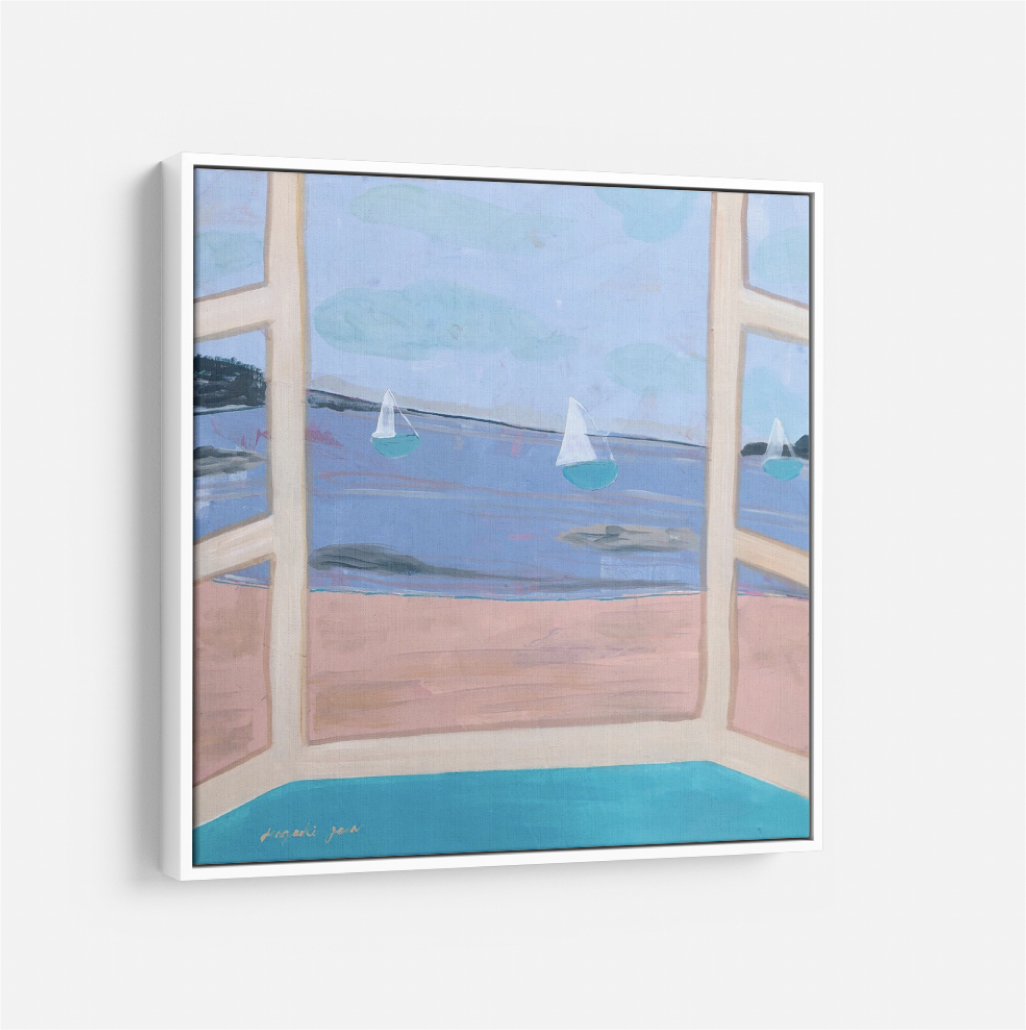 The Oster Ocean Front  (24 x 24) 00115