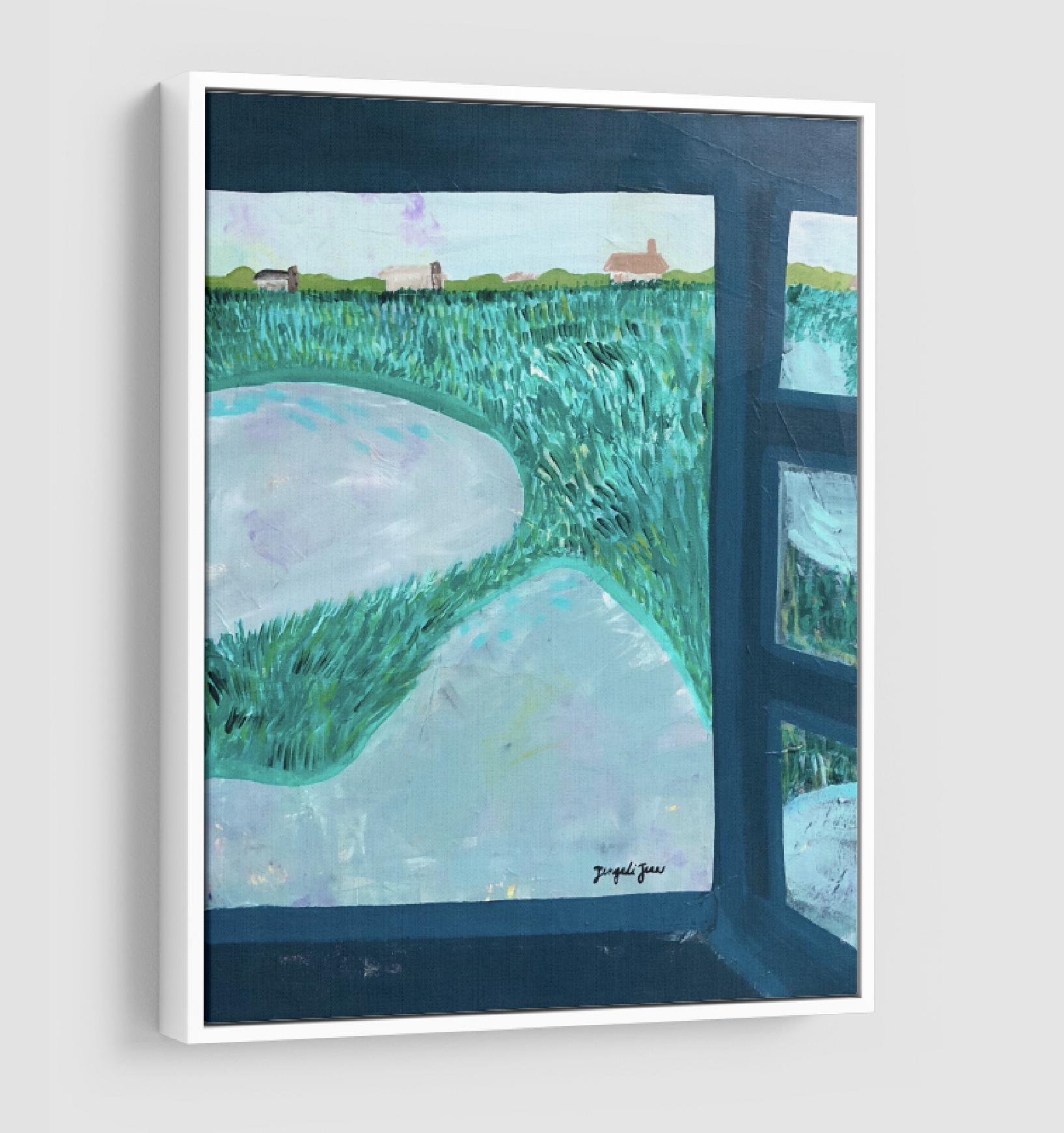 Lucinda Gray's Beach (24 x 30) 00114