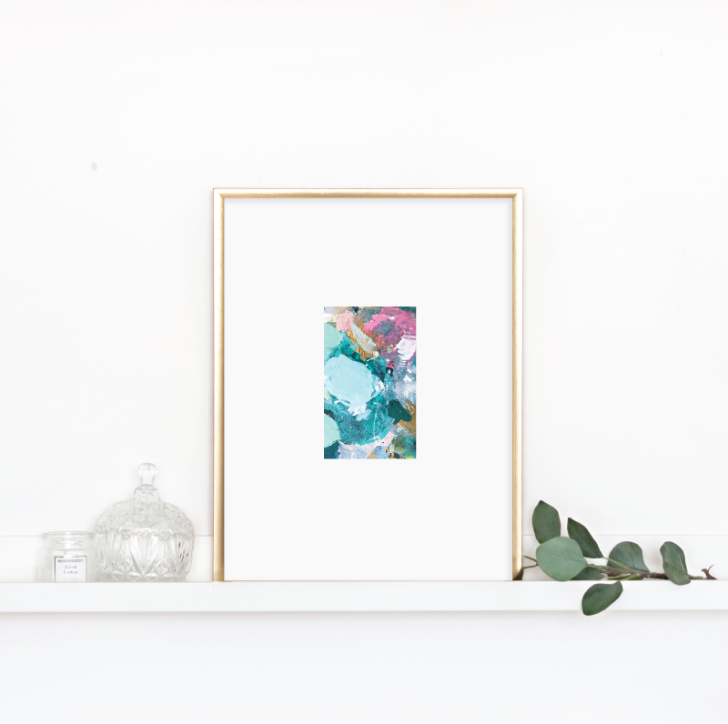 Matted Palette Print No.1 00160