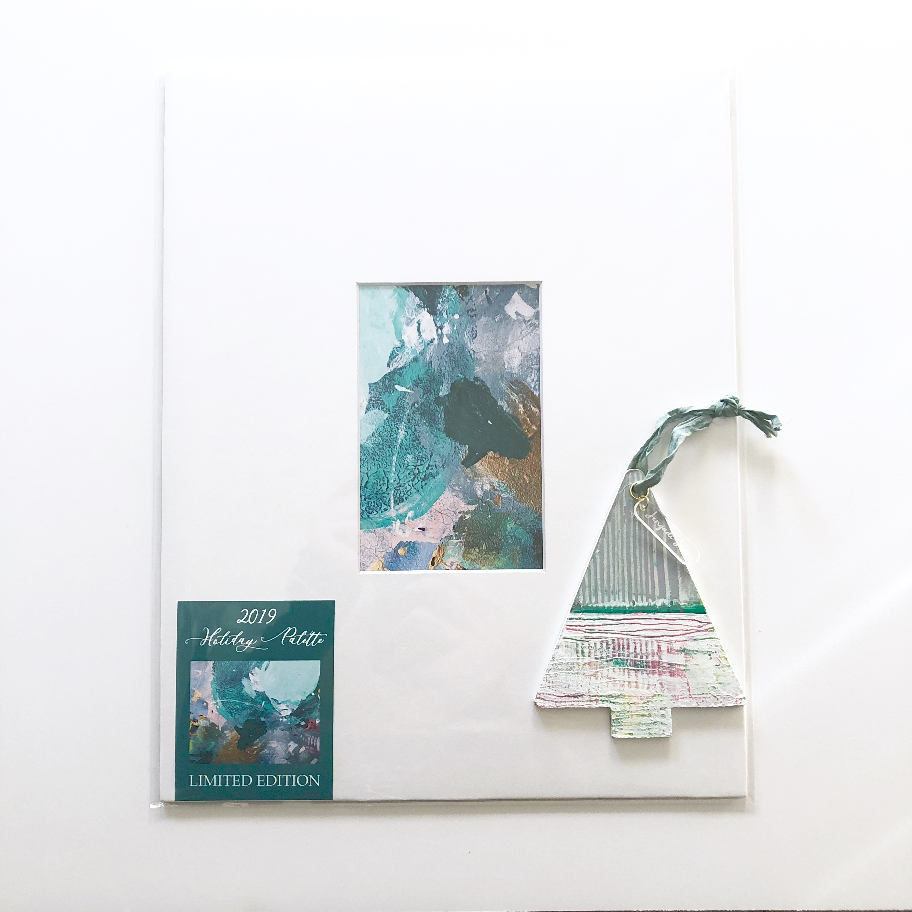 Limited Edition Matted Palette Print​ & Ornament (Mix & Match) 00183