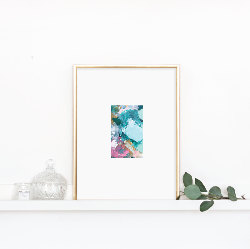 Limited Edition Matted Palette Print​ & Ornament (Mix & Match)