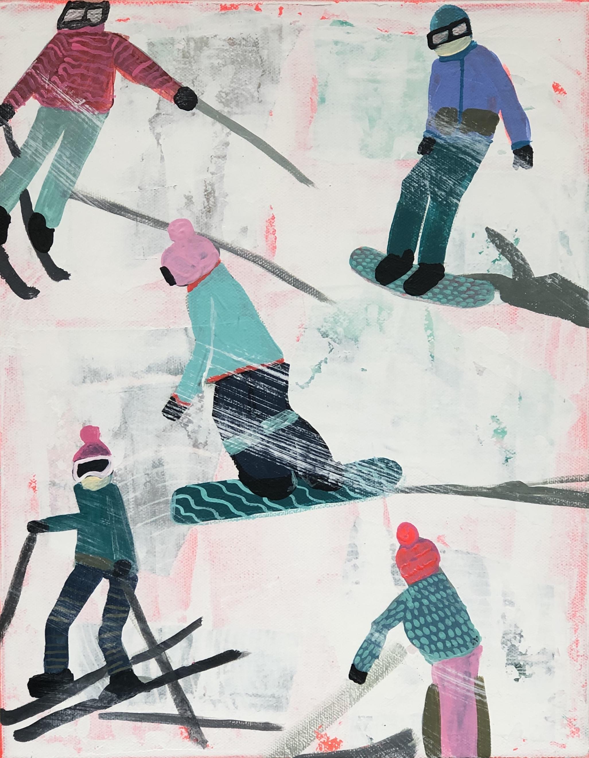 Slope Party No. 1 Print